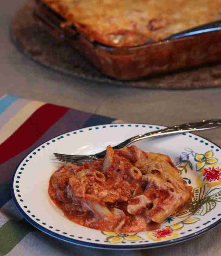 Healthier Baked Penne Recipe