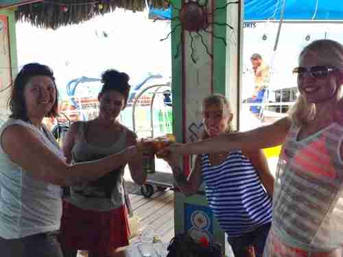 Cheers to a great day snorkeling with De Palm Tours!