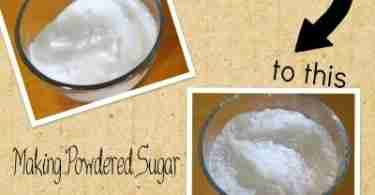 DIY Powdered Sugar