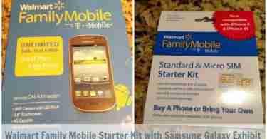 Walmart Best Plans ~ Samsung Galaxy Exhibit Kit