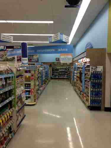 walgreens aisle long
