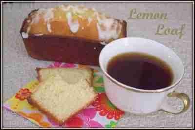 Lemon Loaf- Daily Dish Magazine #lemonloaf #lemon #teacake