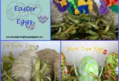 Crafting with Plastic Easter Eggs- Daily Dish Magazine #crafts #Easter #plasticeastereggs