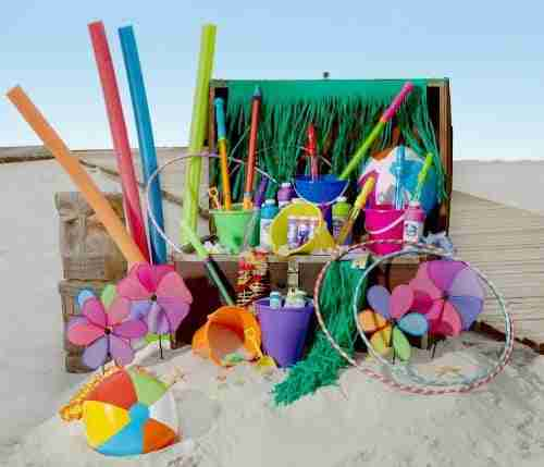Beach Toys at Dollar Tree for only $1