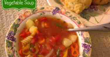 Vegetable Soup ~ Daily Dish Magazine #soup #vegetable