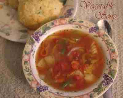 Vegetable Soup ~ Daily Dish Magazine #soup #vegetables