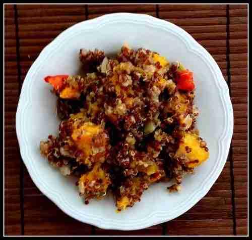 Quinoa Butternut Breakfast Hash