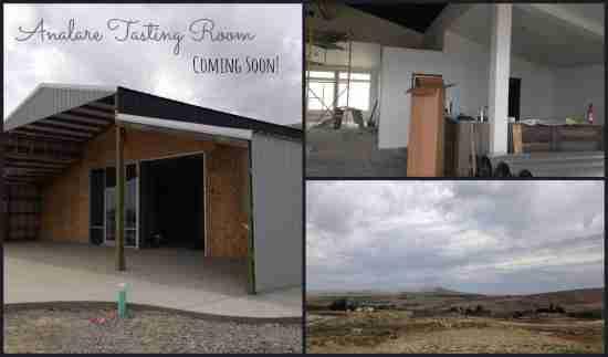 Analare Wine Tasting Room Coming Soon