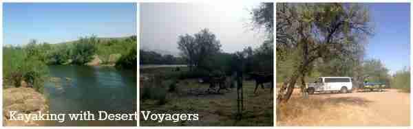 Kayaking Adventure with Desert Voyagers