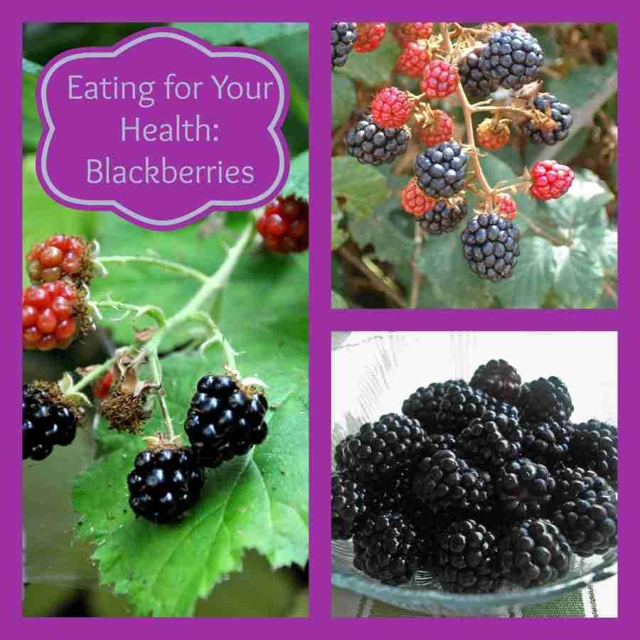 Eating for Your Health:  Blackberries