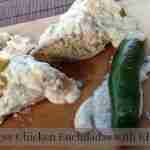 Easy Cheesy Chicken Enchiladas!