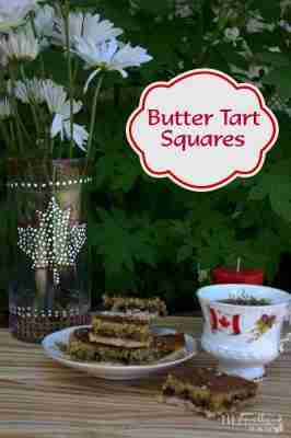 Butter Tart Square/Daily Dish Magazine Canadian Dessert #canadiandessert