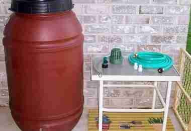 rain barrel kit