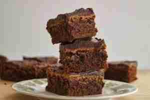 Coffee Cream Cheese Brownies