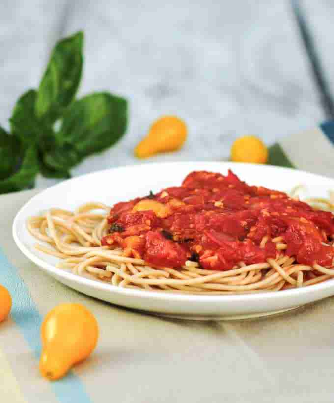 ... have tomatoes and there is nothing quite like pasta with fresh tomato