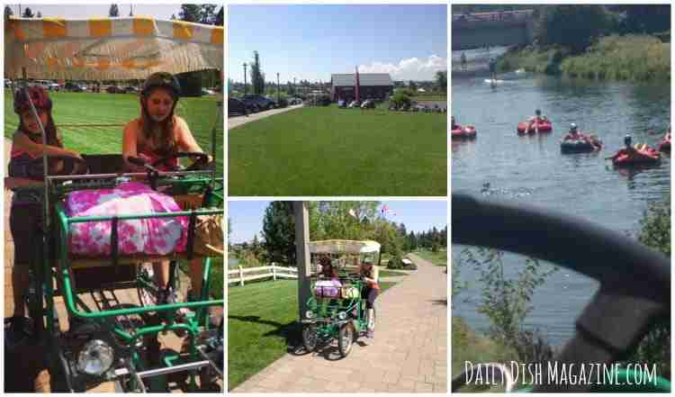 Surrey Bikes in Bend Oregon ~ Central Oregon Travel