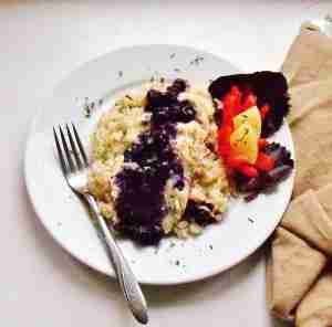 Blueberries Chicken and Rice