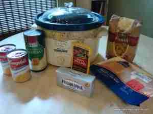 Crock Pot Chicken and Pasta