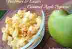 Easier and Healthier Caramel Apple Popcorn