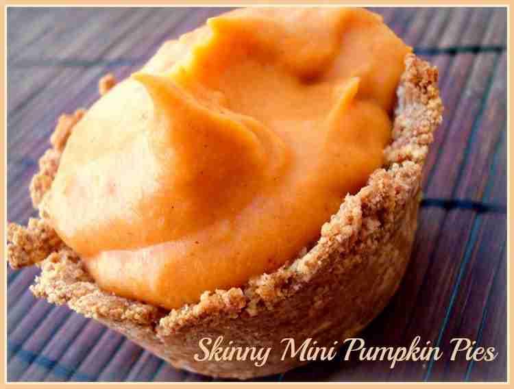 Skinny Mini Pumpkin Pies