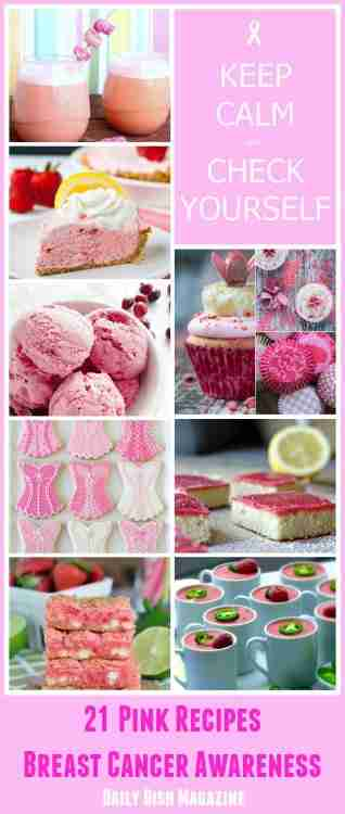 21 Pink Recipes for Breast Cancer Awareness