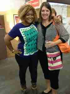 Sunny Anderson and I Talking About Extended Stay America at NYCWFF