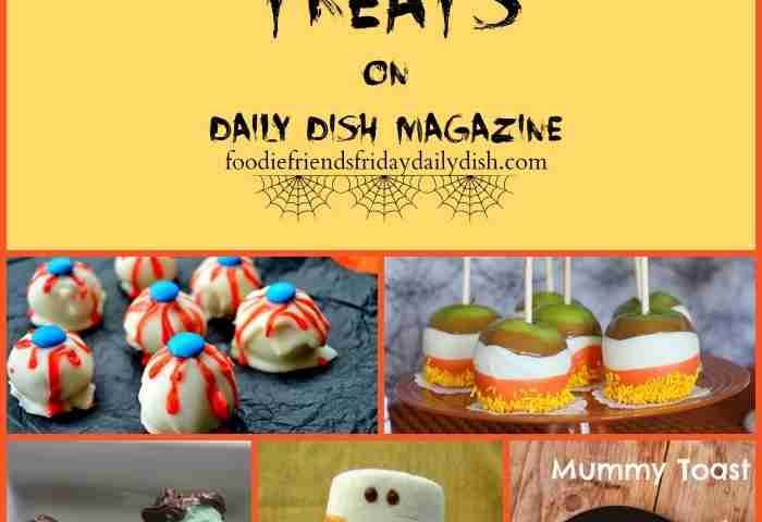 Halloween Treats from our Blogging Friends