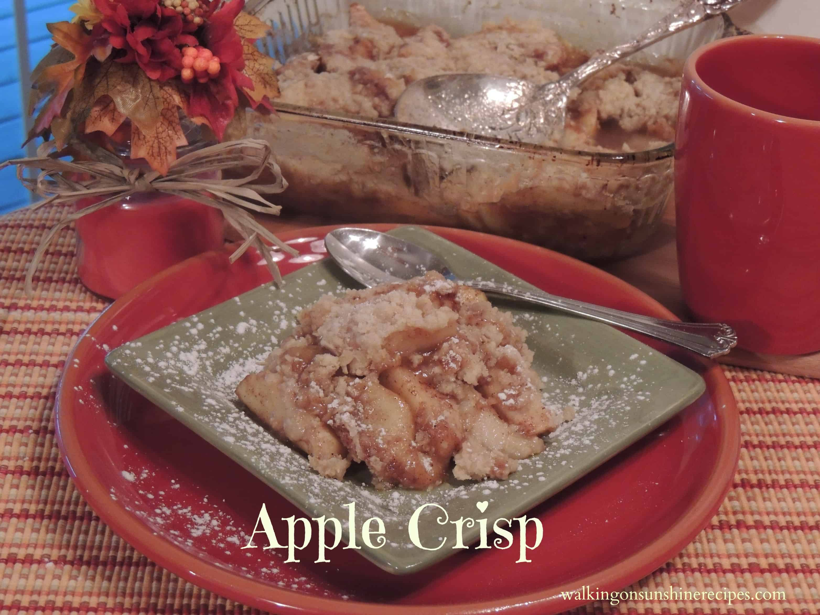 apple crisp promo