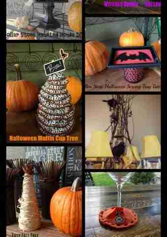 Dollar Store Crafts for Halloween