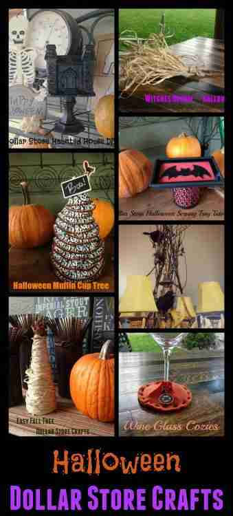 Halloween Dollar Store Crafts ~ Daily Dish Magazine