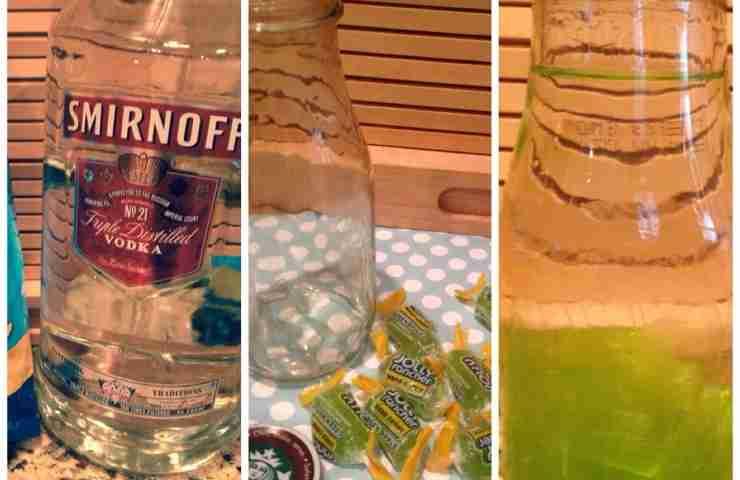 Easy Flavored Vodka DIY