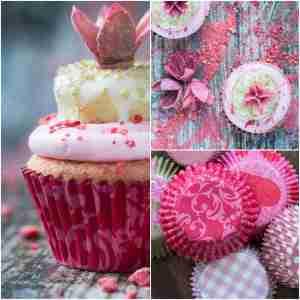 Pink Doughnut Cupcakes