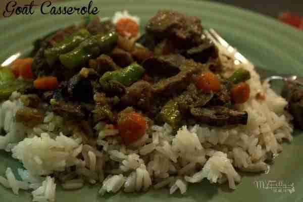 Goat Meat Casserole