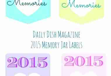 Memories 2015 Front Labels Promo