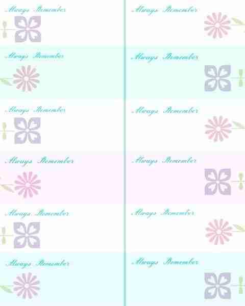 Memory Jars 2015 ~ Memory Sheets