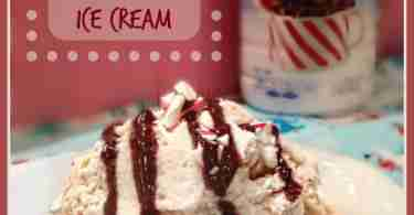 Easy Peppermint Mocha Ice Cream