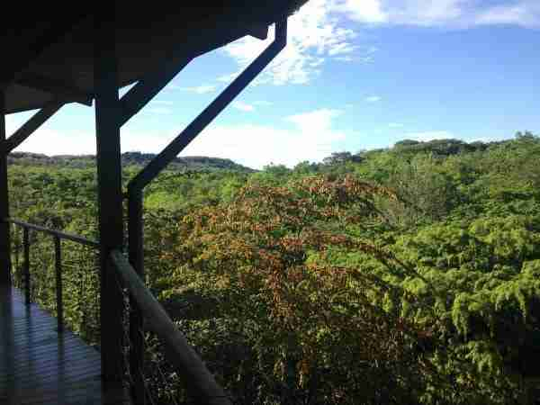 Open Air View from Rio Perdido Dining Room Costa Rica