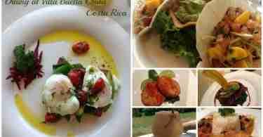 Dining at Villa Buena Onda Costa Rica