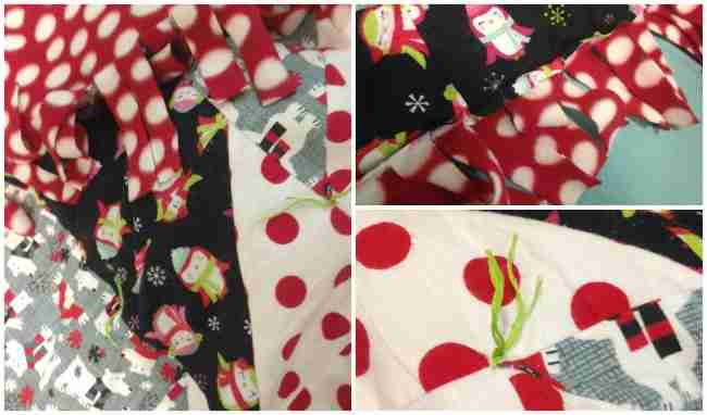 Christmas Blanket Details