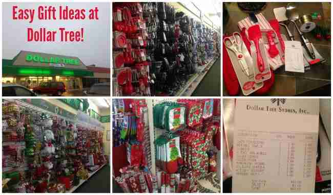Christmas Shopping at Dollar Tree