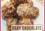 Dark Chocolate Cherry Granola Bites