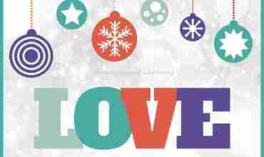 Free Christmas Card Printable LOVE