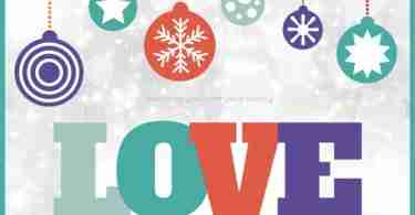 Free Christmas Card Printable LOVE