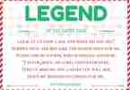 Legend of the Candy Cane Poem ~ Free Printable Card