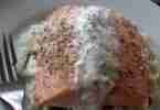 Salmon with Tiger Dill Sauce (500x500)