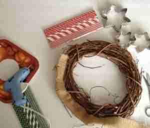 Christmas Wreath for the Kitchen/ Daily Dish Magazine