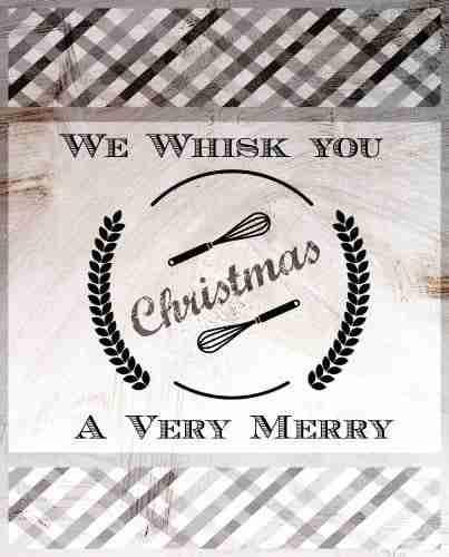 whisk christmas black promo