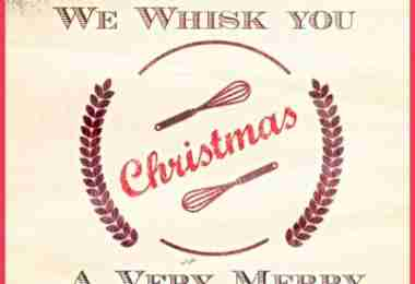 whisk christmas red promo