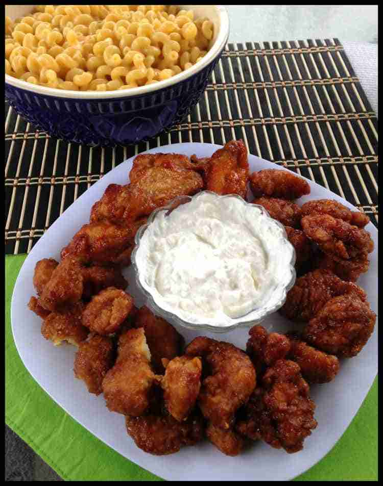 Game Day Hero ~ Ready to Go Hot Wings