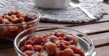Molasses Lovers Baked Lima Beans